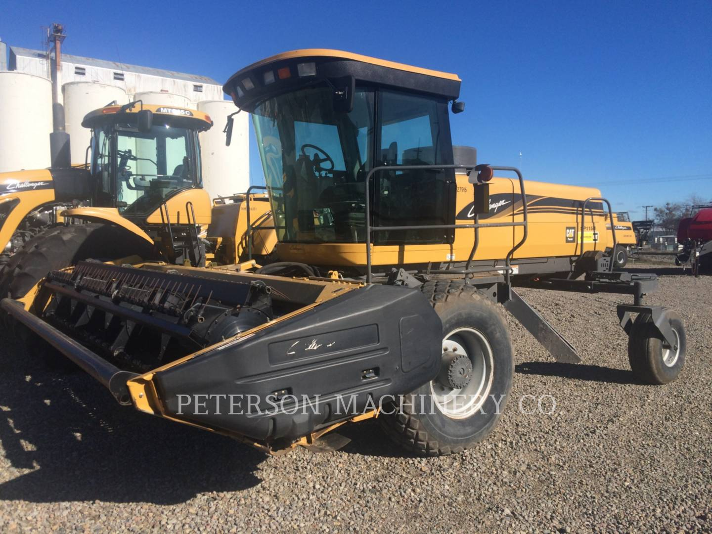 Detail photo of 2008 AGCO SP115B from Construction Equipment Guide