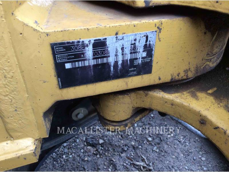 CATERPILLAR トラック油圧ショベル 308E equipment  photo 6