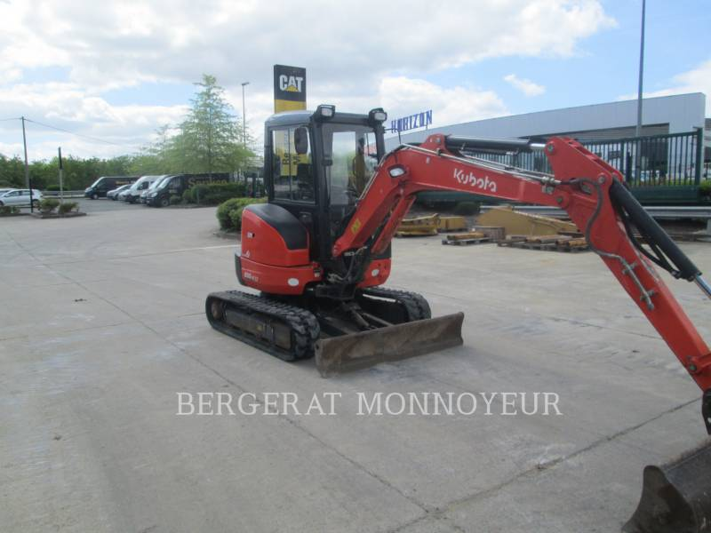KUBOTA TRACTOR CORPORATION TRACK EXCAVATORS U35 equipment  photo 3