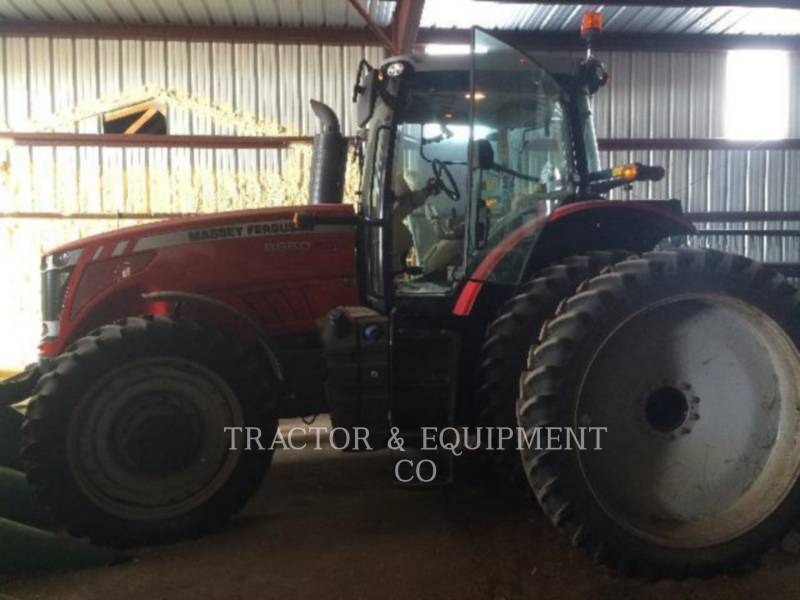 MASSEY FERGUSON TRACTEURS AGRICOLES 8660 equipment  photo 4