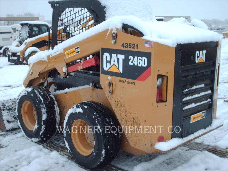 CATERPILLAR SKID STEER LOADERS 246D HF equipment  photo 3
