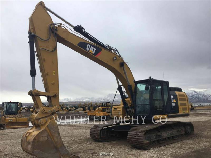 CATERPILLAR TRACK EXCAVATORS 326F L equipment  photo 1