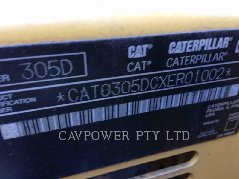 CATERPILLAR EXCAVADORAS DE CADENAS 305DCR equipment  photo 2