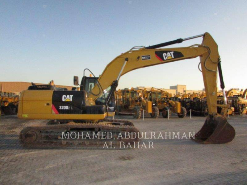 CATERPILLAR TRACK EXCAVATORS 320 D L equipment  photo 6