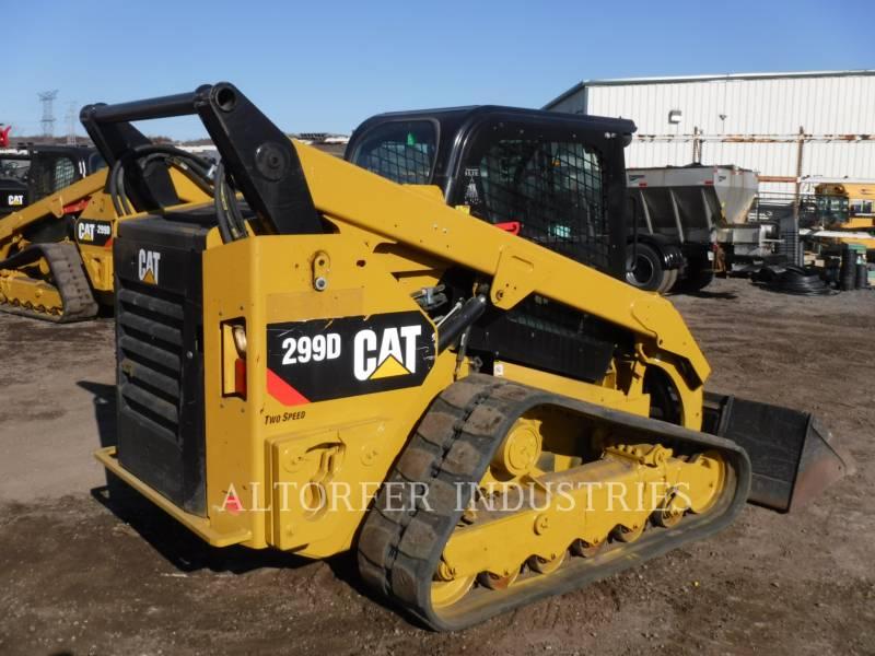 CATERPILLAR 多地形装载机 299D equipment  photo 4