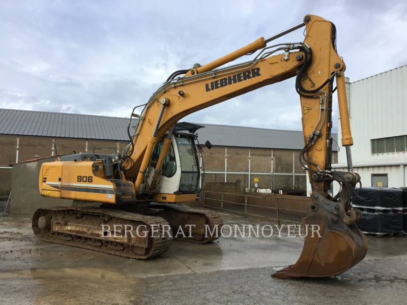 LIEBHERR KETTEN-HYDRAULIKBAGGER R906 equipment  photo 1