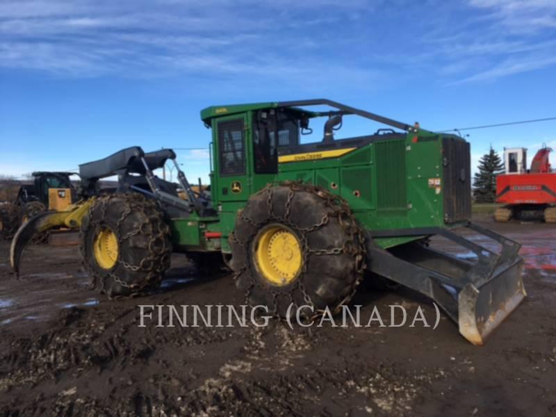 JOHN DEERE FORESTRY - SKIDDER 848 L equipment  photo 2