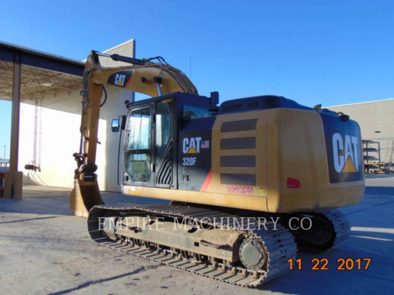 CATERPILLAR PELLES SUR CHAINES 320FL    P equipment  photo 3