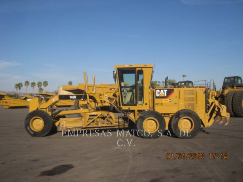 CATERPILLAR MOTORGRADER 140 K equipment  photo 3