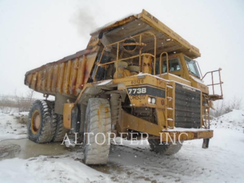 CATERPILLAR ARTICULATED TRUCKS 773B equipment  photo 4