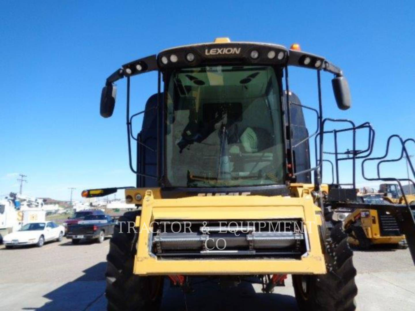 Detail photo of 2013 Lexion LX760 from Construction Equipment Guide