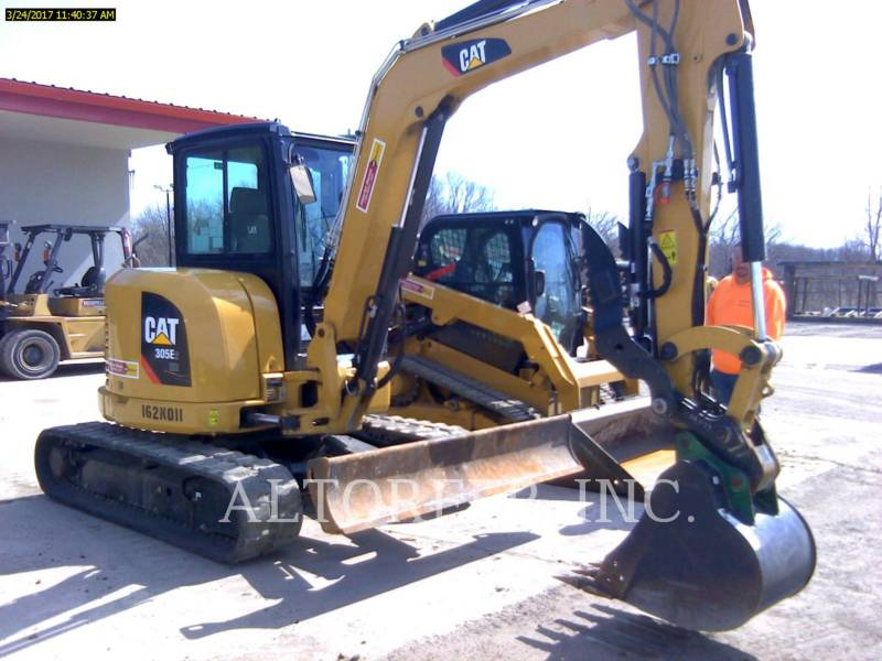 CATERPILLAR TRACK EXCAVATORS 305E2 CR- equipment  photo 1
