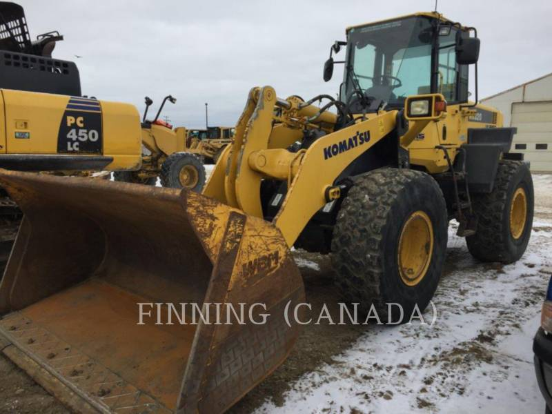 KOMATSU WHEEL LOADERS/INTEGRATED TOOLCARRIERS WA320 - 6 equipment  photo 1