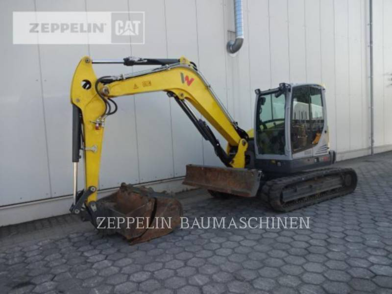 WACKER CORPORATION TRACK EXCAVATORS EZ80 equipment  photo 1