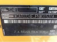 CATERPILLAR TRACK EXCAVATORS 324E 9 equipment  photo 5