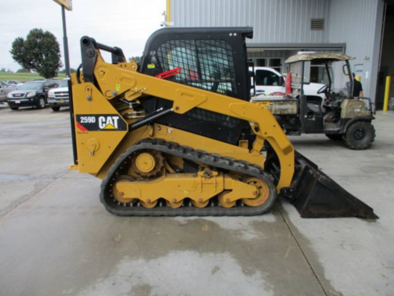 CATERPILLAR MULTITERREINLADERS 259D equipment  photo 2