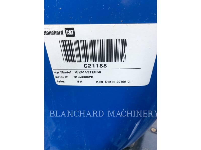 NEW HOLLAND LTD. AG TRACTORS WKMASTER50 equipment  photo 6