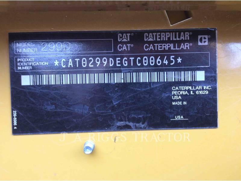 CATERPILLAR CARGADORES MULTITERRENO 299D AH equipment  photo 8