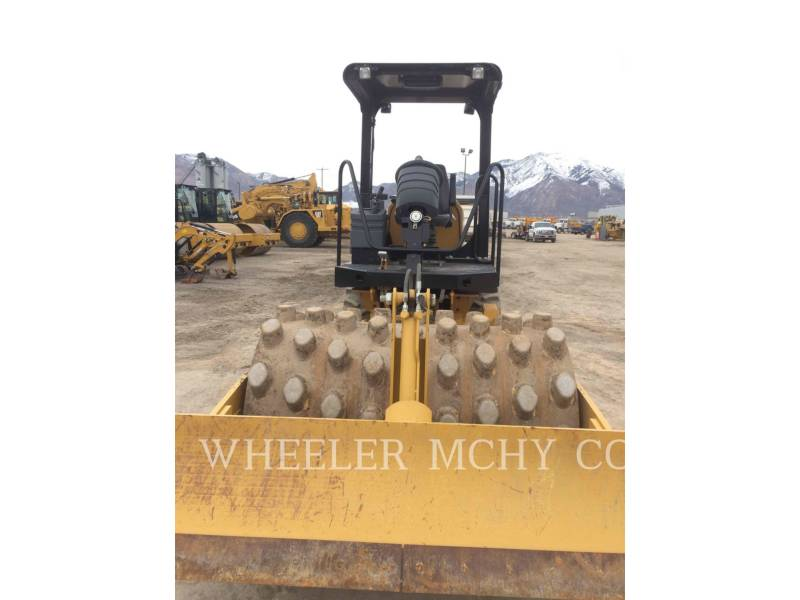 CATERPILLAR VIBRATORY SINGLE DRUM PAD CP44 equipment  photo 5