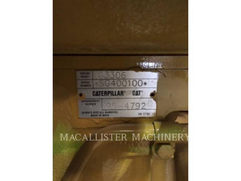 CATERPILLAR STATIONARY GENERATOR SETS G3306 equipment  photo 10