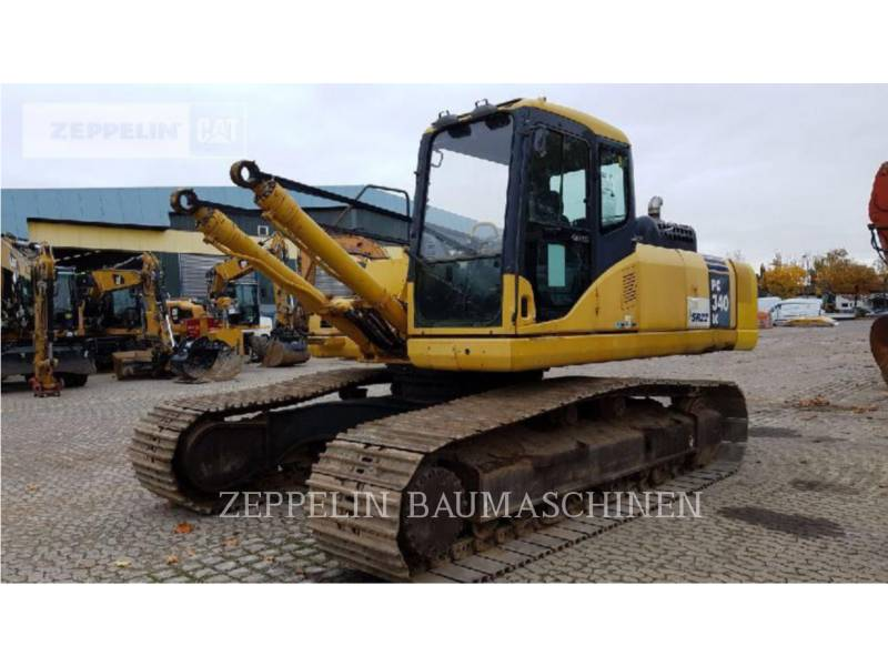 KOMATSU LTD. KETTEN-HYDRAULIKBAGGER PC340NLC equipment  photo 1