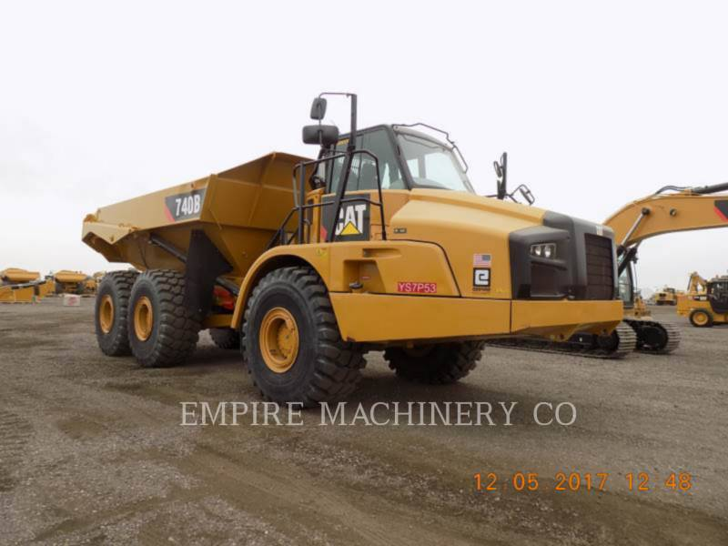 CATERPILLAR ダンプ・トラック 740B TG equipment  photo 2
