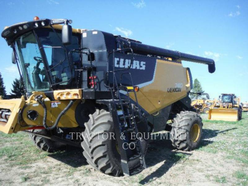 LEXION COMBINE KOMBAJNY LX740 equipment  photo 1
