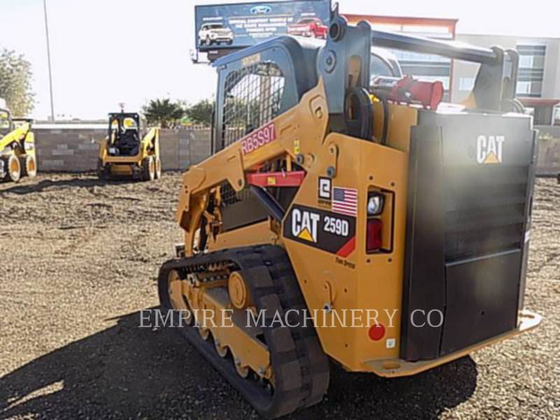 CATERPILLAR KOMPAKTLADER 259D equipment  photo 3