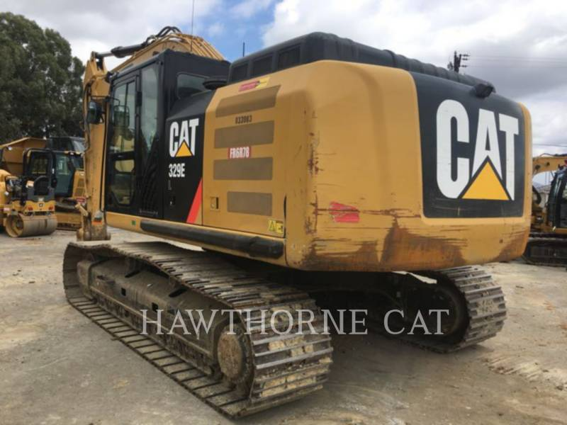 CATERPILLAR TRACK EXCAVATORS 329E equipment  photo 3