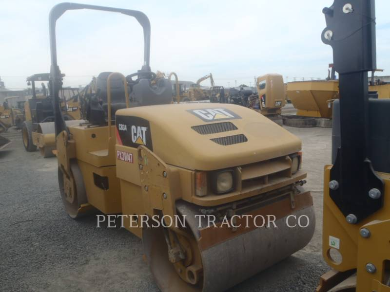CATERPILLAR ASPHALT PAVERS CB34Q equipment  photo 1