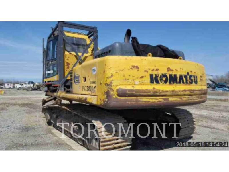KOMATSU LTD. KETTEN-HYDRAULIKBAGGER PC300LC-6 equipment  photo 3