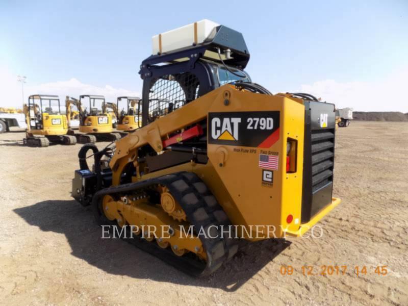CATERPILLAR スキッド・ステア・ローダ 279D equipment  photo 3