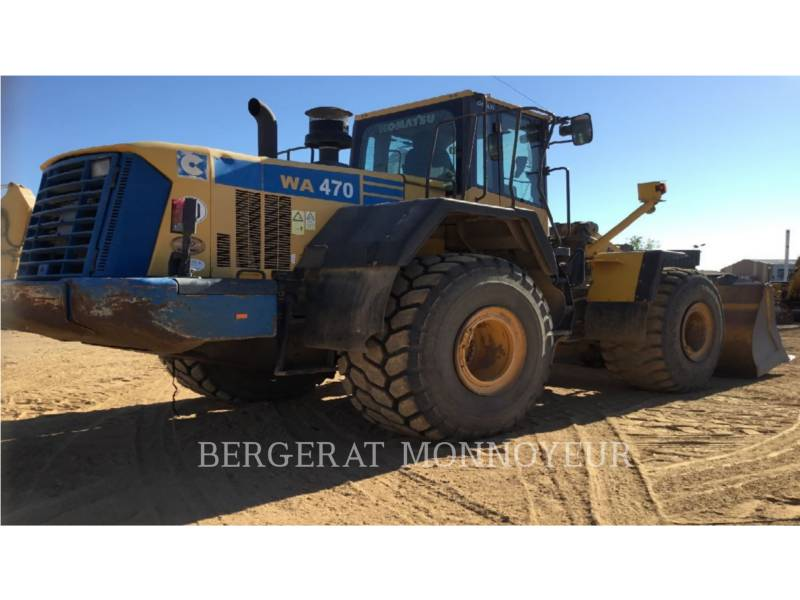 KOMATSU WHEEL LOADERS/INTEGRATED TOOLCARRIERS WA470.6 equipment  photo 5