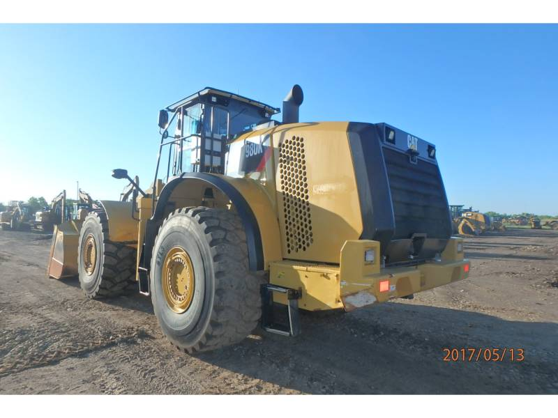 Caterpillar ÎNCĂRCĂTOARE PE ROŢI/PORTSCULE INTEGRATE 980K equipment  photo 4