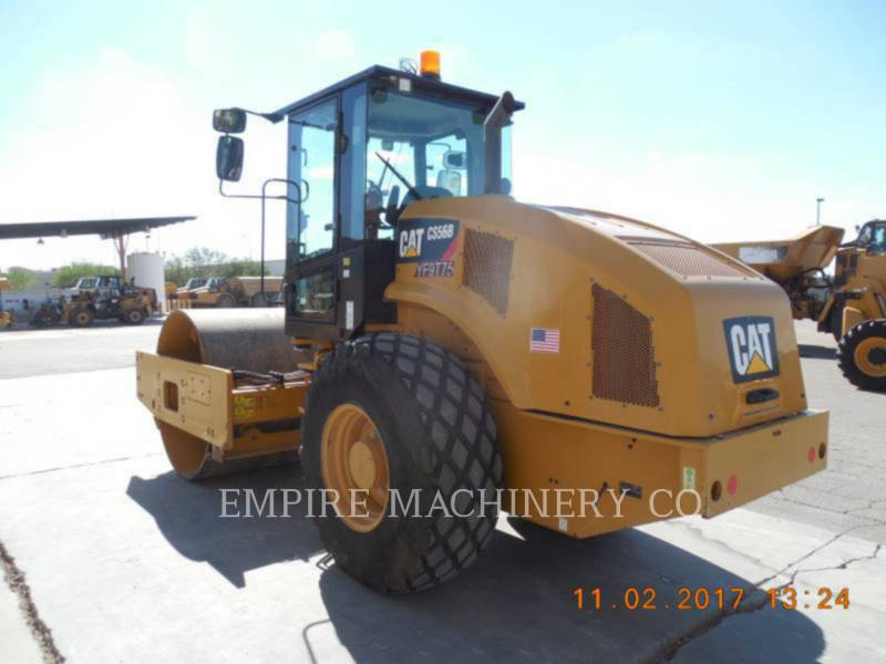 CATERPILLAR VIBRATORY SINGLE DRUM PAD CS56B CA equipment  photo 3