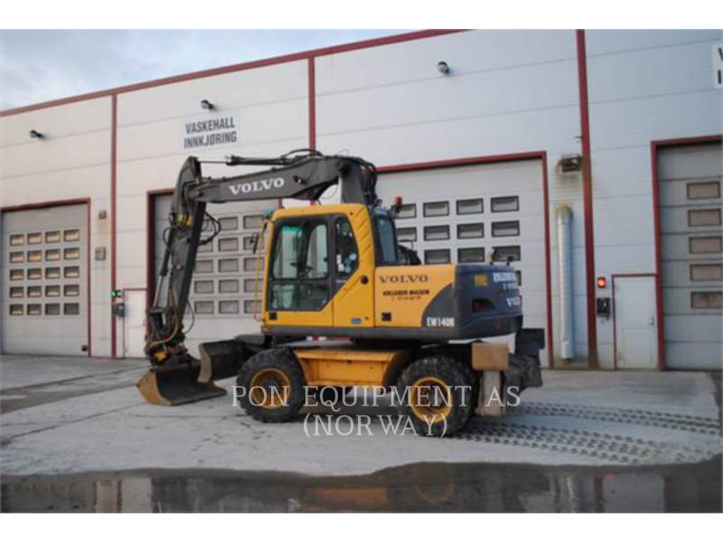 VOLVO CONSTRUCTION EQUIPMENT ESCAVADEIRAS DE RODAS EW140B equipment  photo 2
