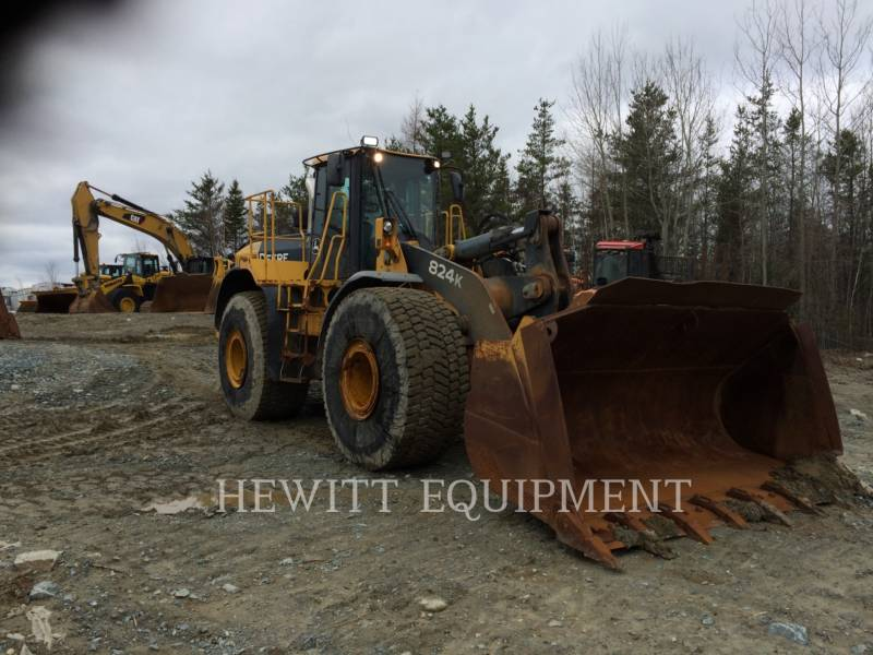 JOHN DEERE WHEEL LOADERS/INTEGRATED TOOLCARRIERS 824K equipment  photo 2