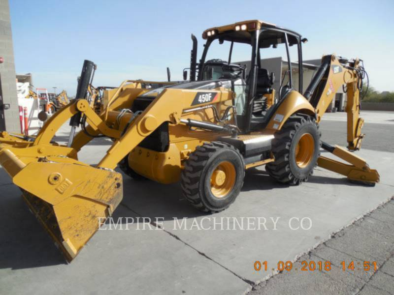 CATERPILLAR RETROEXCAVADORAS CARGADORAS 450F equipment  photo 4