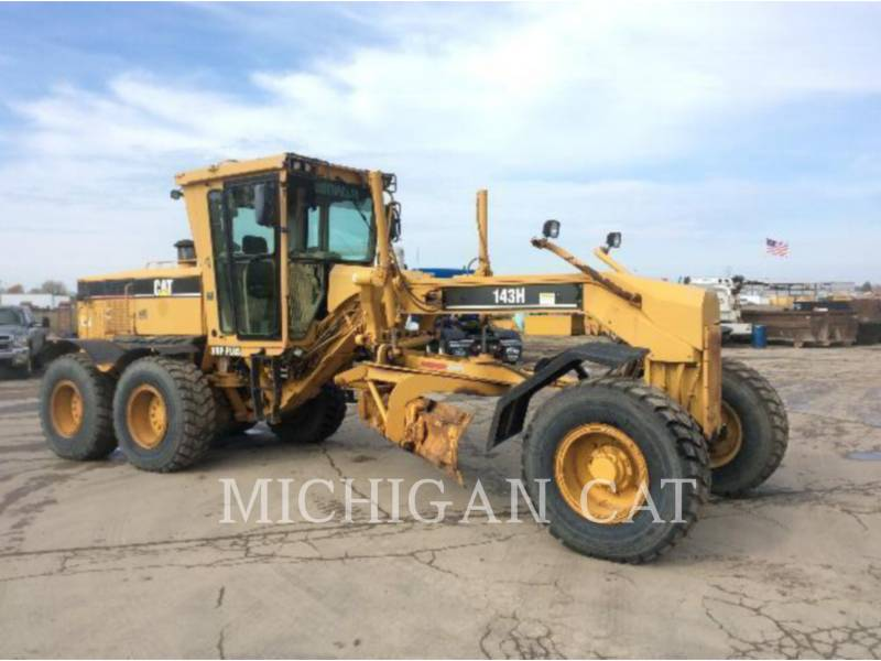 CATERPILLAR MOTOR GRADERS 143H equipment  photo 2