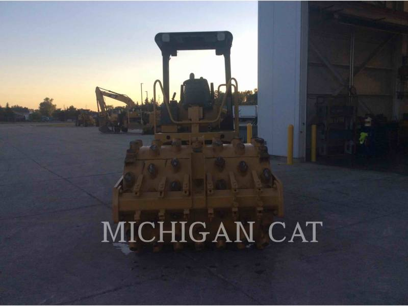 CATERPILLAR EINZELVIBRATIONSWALZE, GLATTBANDAGE CS-433E equipment  photo 8
