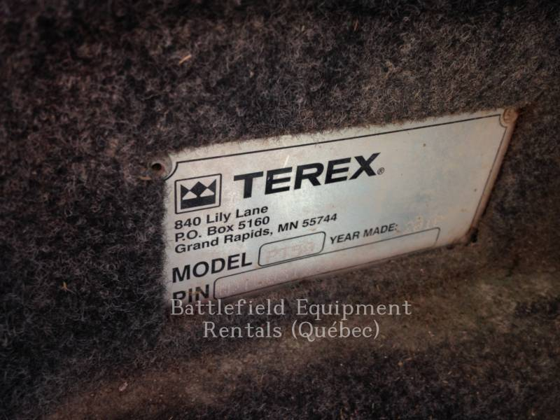 TEREX CORPORATION 多様地形対応ローダ PT50 equipment  photo 17