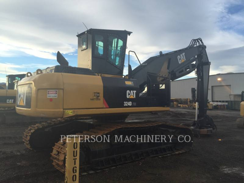 CATERPILLAR CARGADORES DE TRONCOS 324D-FM LL equipment  photo 3