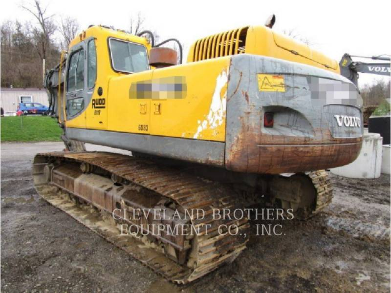 VOLVO CONSTRUCTION EQUIPMENT TRACK EXCAVATORS EC360LC equipment  photo 5