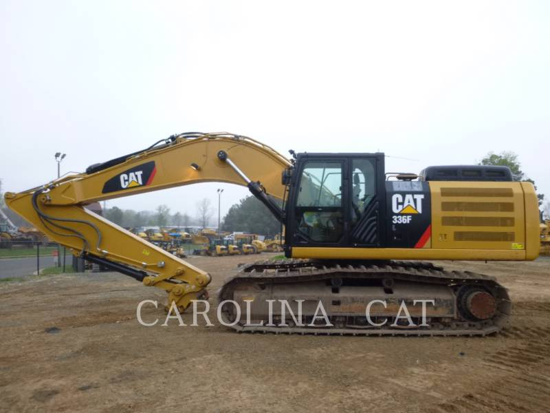 CATERPILLAR PELLES SUR CHAINES 336FL QC equipment  photo 1