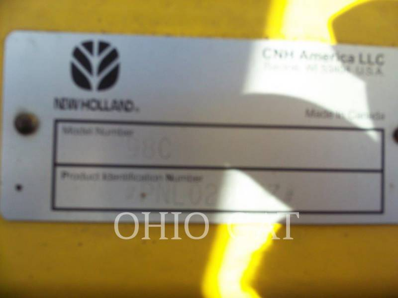 CASE/NEW HOLLAND COMBINÉS 98C equipment  photo 10