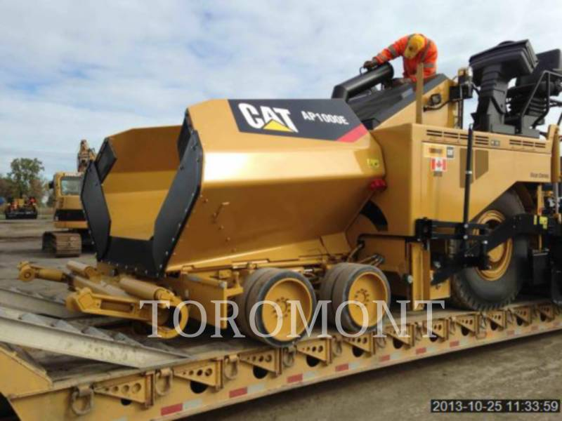 CATERPILLAR PAVIMENTADORA DE ASFALTO AP1000E equipment  photo 1