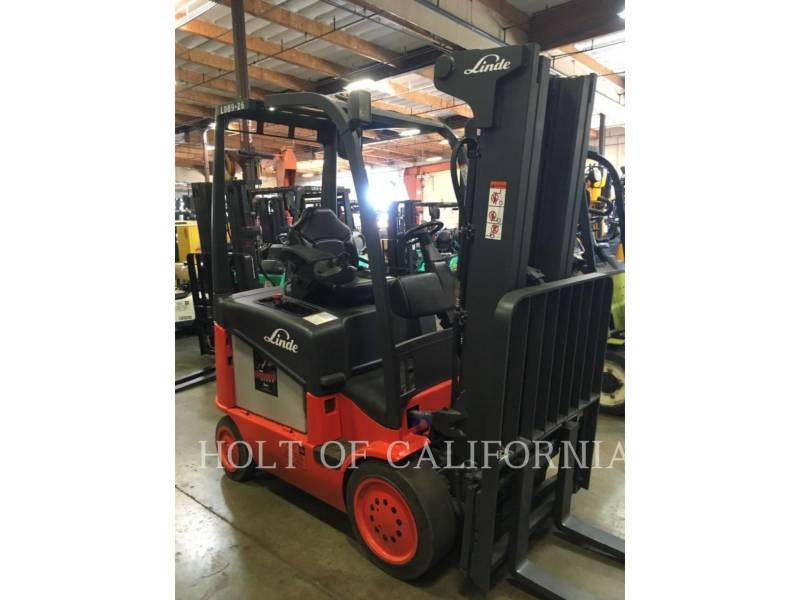 LINDE FORKLIFTS E20C/600 equipment  photo 2
