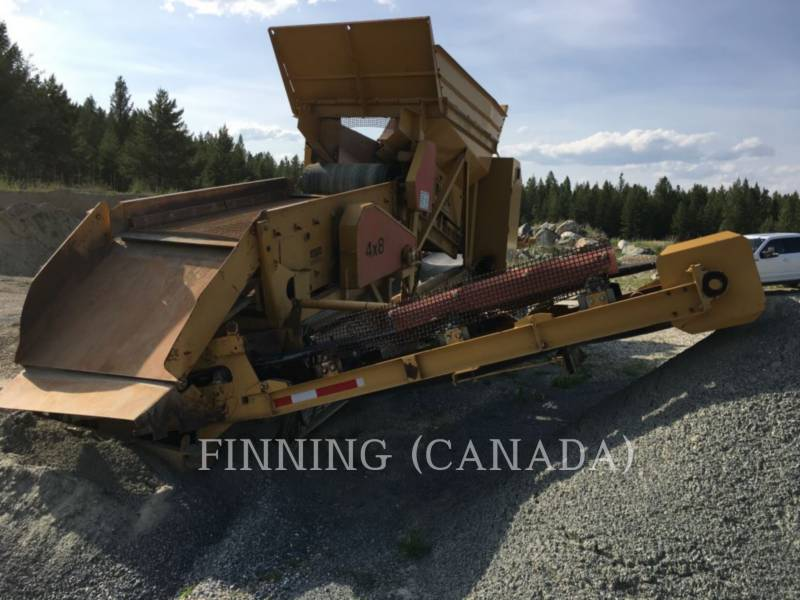 MISCELLANEOUS MFGRS  SCREENER 4X8 RASCAL equipment  photo 4