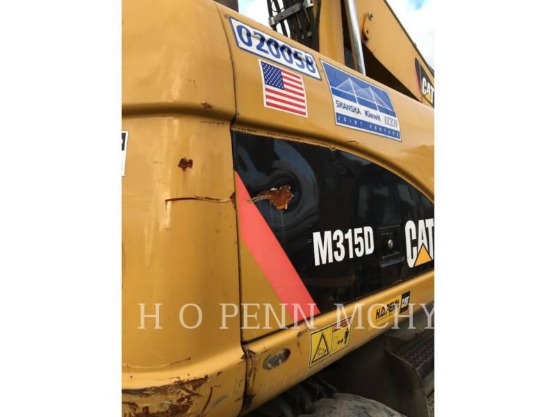 CATERPILLAR MOBILBAGGER M315 D equipment  photo 9