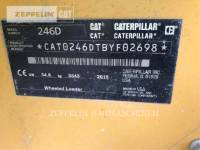 CATERPILLAR SKID STEER LOADERS 246 equipment  photo 8